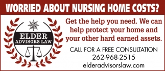 Worried About Nursing Home Costs?