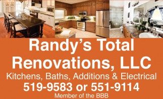Kitchens, Baths, Additions & Eletrical Services