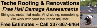 FREE Hail Damage Assessments