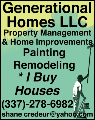 Property Management & Home Improvements