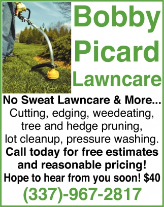 No Sweat Lawncare & More...
