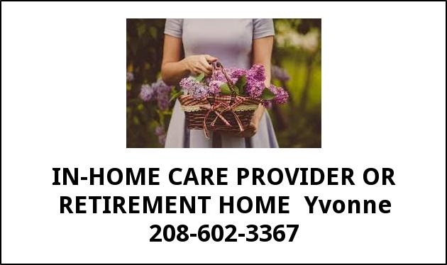 In Home Care Provider