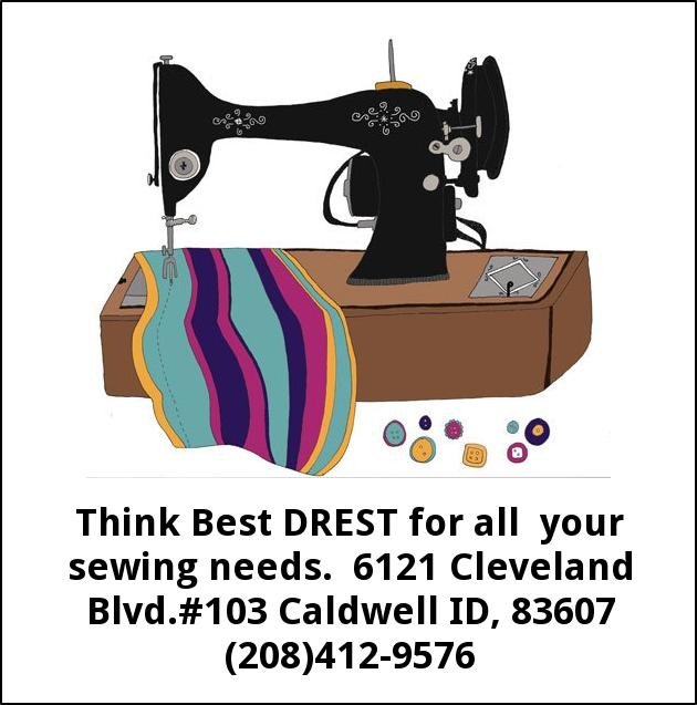 Think Best Drest for All Your Sewing Needs