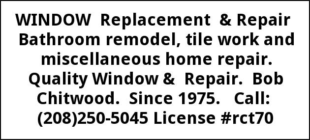 Window Replacement & Repair
