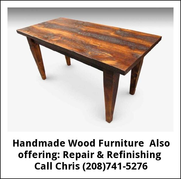 Handmade Wood Furniture