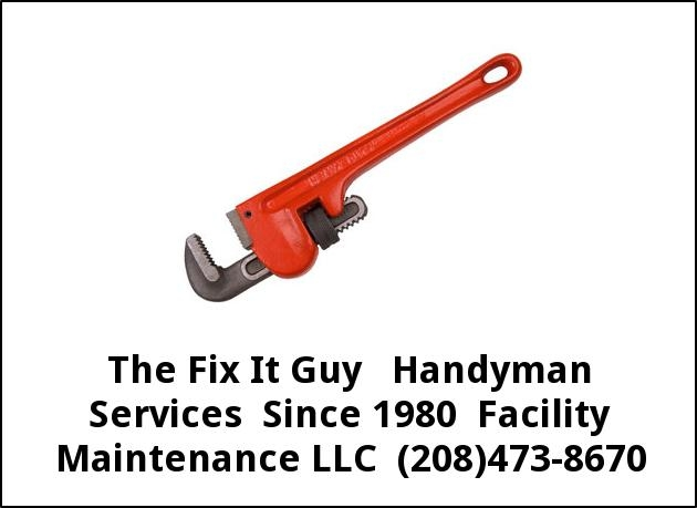 The Fix it Guy