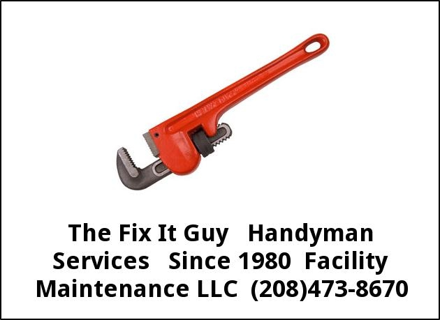Fix It Guy Handyman Services Since 1980 Facility Maintenance LLC