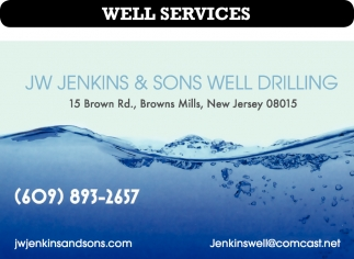 Well Drilling Contractor
