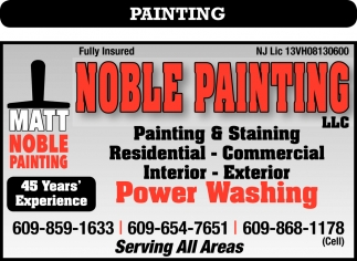 Painting, Staining, Power Washing