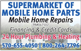 Supermarket of Mobile Home Parts