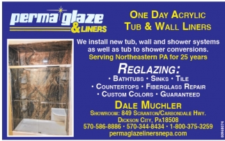 One Day Acrylic Tub & Wall Liners