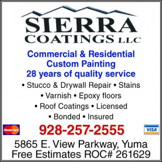 Commercial & Residential Custom Painting