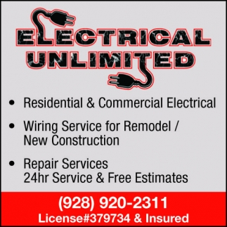 Wiring Service for Remodel / New Construction