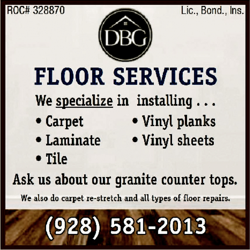 Ask Us About Our Granite Counter Tops