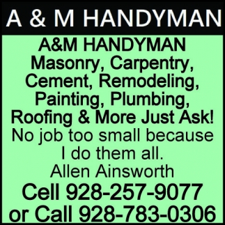 Roofing & More Just Ask!