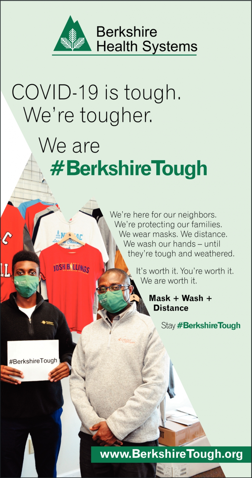 #BerkshireTough