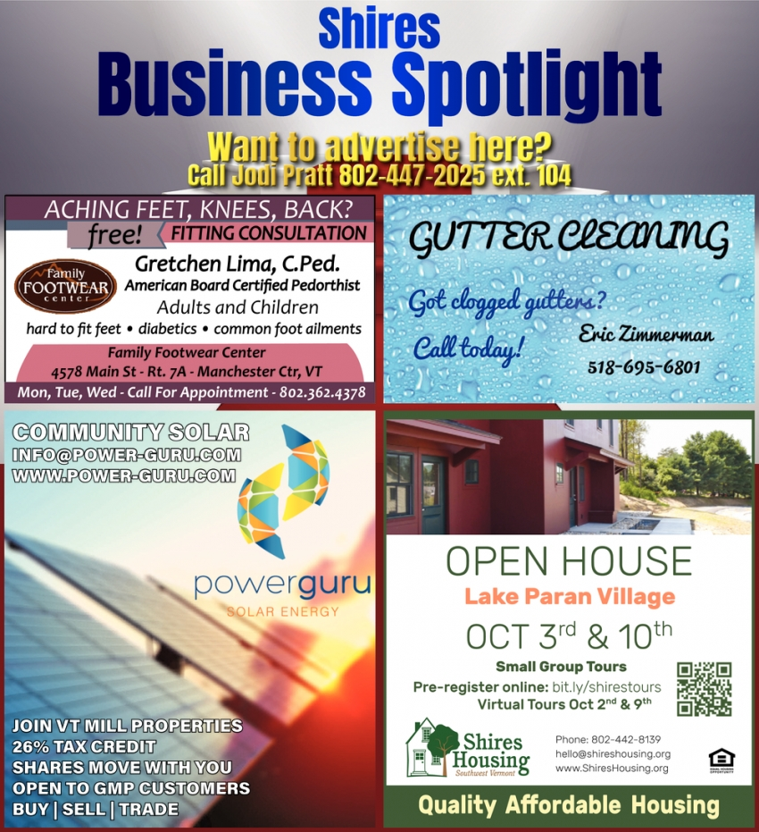 Shire Business Spotlight