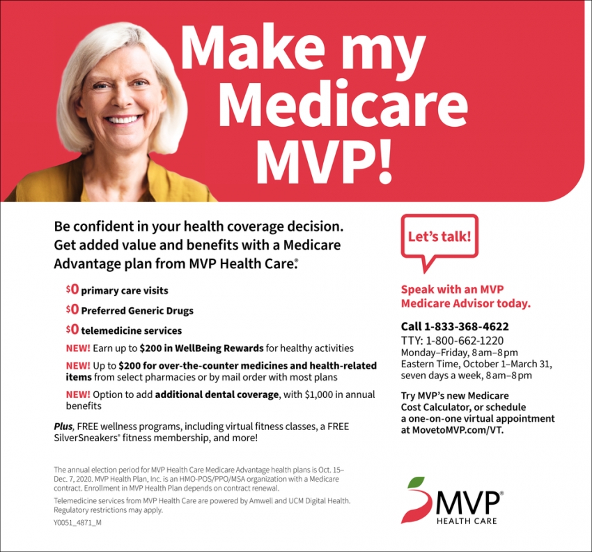 Make My Medicare MVP!