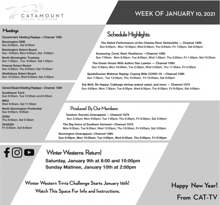 Week Of January 10