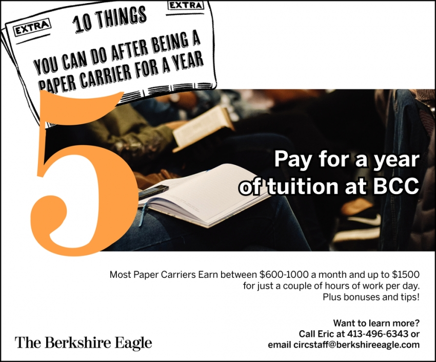 Pay for a Year of Tuition at BCC