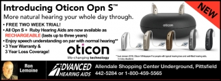 Introducing Oticon Opn S