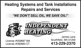 Heating Systems and Tank Installations