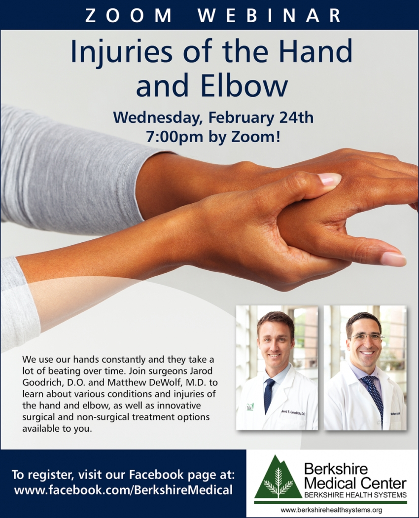 Injuries of The Hand and Elbow