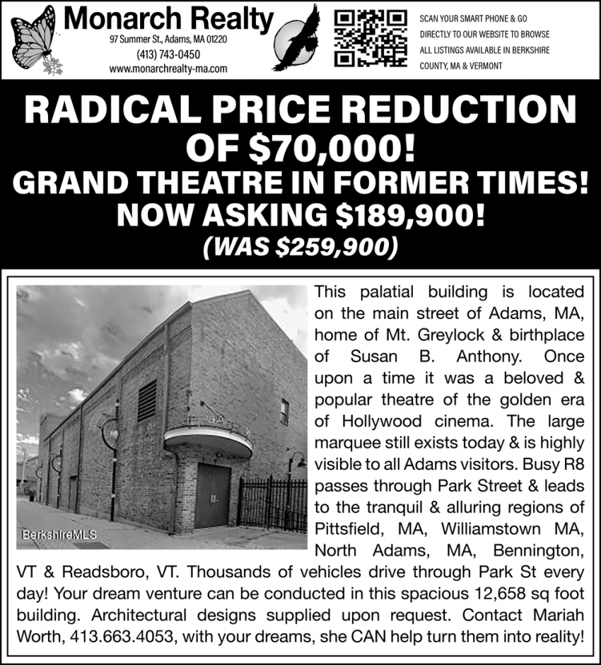 Radical Price Reduction