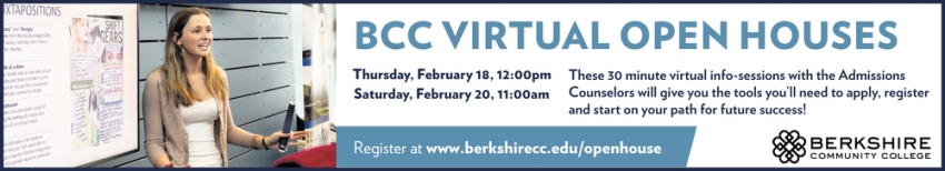 BCC Virtual Open Houses