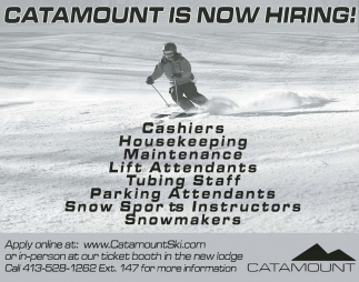 Catamount Is Now Hiring