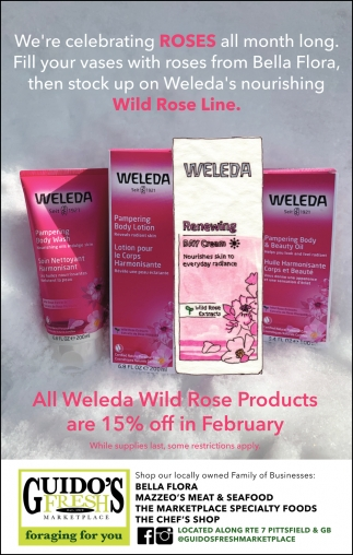 All Weleda Wild Rose Products Are 15% OFF In February