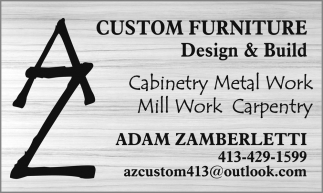 Custom Furniture Design & Build