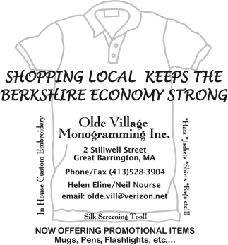 Shopping Local Keeps The Berkshire Economy Strong