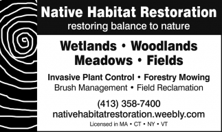 Native Habitar Restoration