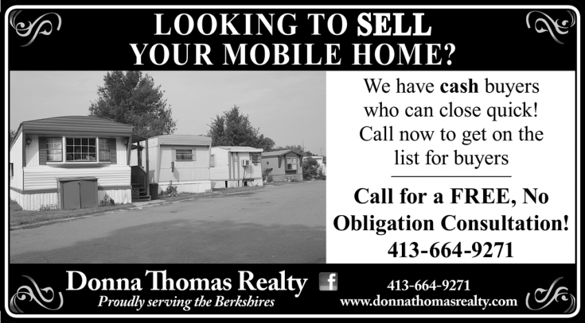 Looking To Sell Your Mobile Home?