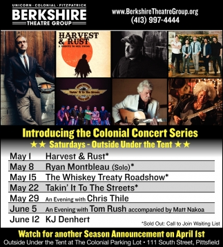 Introducing The Colonial Concert Series