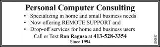 Personal Computer Consulting