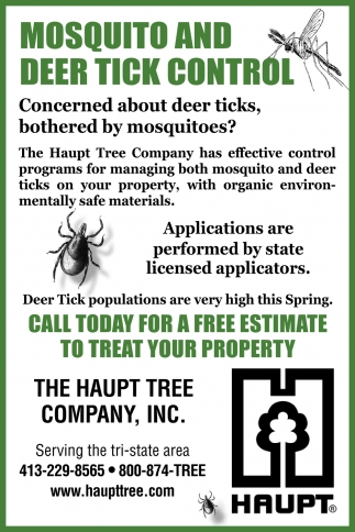 Mosquito And Deer Tick Control