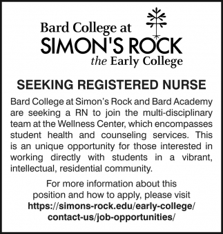 Seeking Registered Nurse