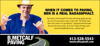Ben Is A Real Badassphalt