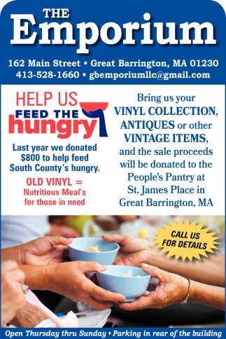 Help Us Feed The Hungry