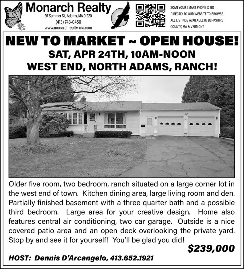 New To Market - Open House!