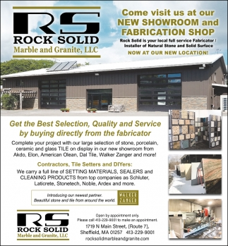 New Showroom And Fabrication Shop