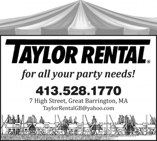 For All Your Party Needs!