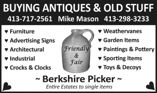 Buying Antiques & Old Stuff