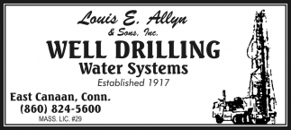 Well Drilling Water Systems