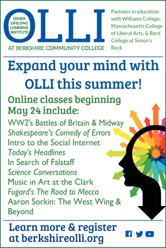 Expand Your Mind With OLLI This Sumer!