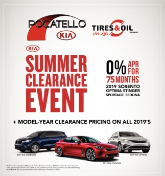 Summer Clearance Event