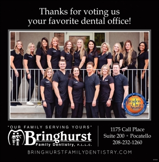 Thanks for Voting Us your Favorite Dental Office