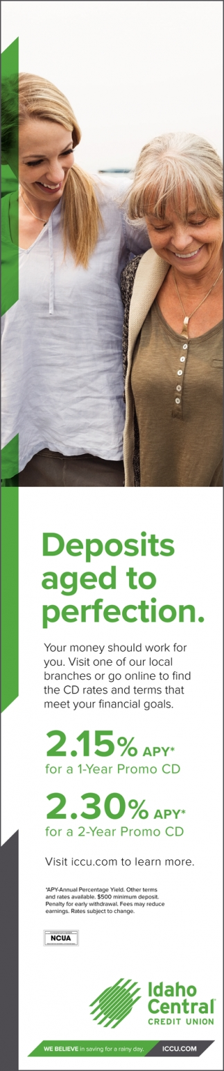 Deposits Aged to Perfection